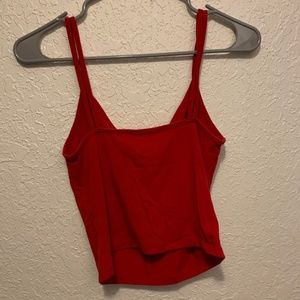 Forever 21 Red Cropped Cami